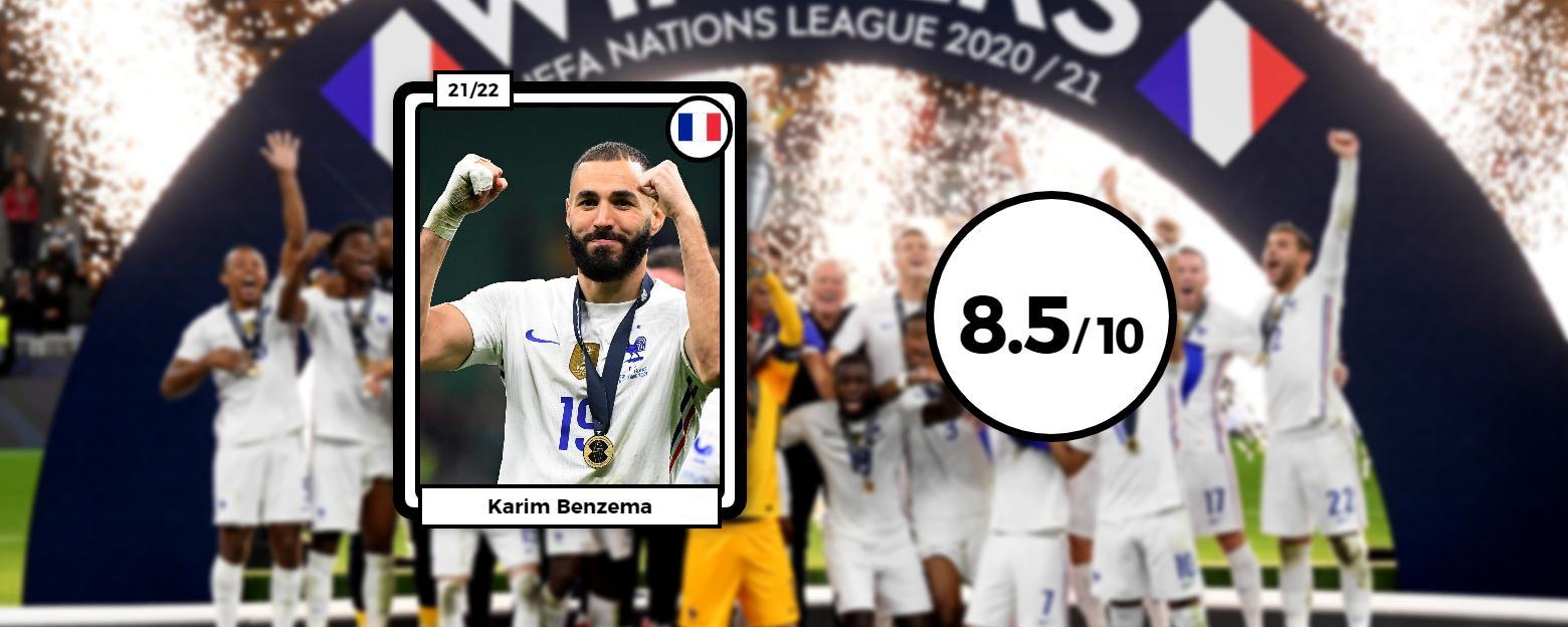 Les notes des Bleus après Espagne-France : Benzema magistral, Lloris et Pogba monstrueux thumbnail