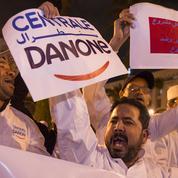 Danone souffre en raison de la Chine et du Maroc