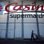 Bourse: Casino s'enfonce dans le rouge, plombé par son ralentissement en France
