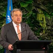 Climat: le patron de l'ONU juge que le monde n'est «pas en bonne voie»