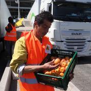 Prix des fruits et légumes : action coup de poing d'agriculteurs à la frontière espagnole
