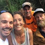 EN IMAGE - Une Américaine perdue en forêt pendant 17 jours retrouvée vivante