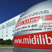 Les journalistes du journal Midi Libre en grève ce mercredi