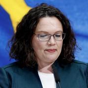 Allemagne: démission de la cheffe du parti social-démocrate (SPD) après la débâcle aux Européennes