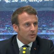 Macron sur le bac : «On ne peut pas prendre nos jeunes et leurs familles en otage»
