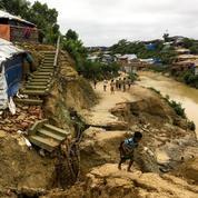 Intempéries au Bangladesh: un mort dans des camps de Rohingyas