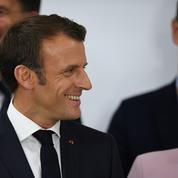 Le 14 juillet, Macron recevra Merkel et Junker à déjeuner à l'Elysée