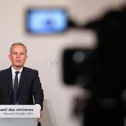 François de Rugy au journal télévisé de France 2 ce mardi soir