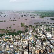 Mousson en Inde: un million de déplacés, 184 morts dans des inondations