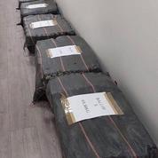 Saisie de plus d'une tonne de cocaïne au Havre, la «plus importante» cette année