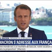 Macron : «Je veux que ce sommet du G7 soit utile»