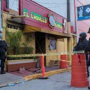 Mexique : au moins 26 morts dans un bar incendié par des narcotrafiquants