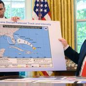 Pour Trump, CNN «se crashe» sur l'ouragan Dorian
