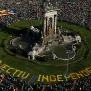 Catalogne : forte baisse de la participation à la manifestation indépendantiste