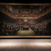 11,1 millions d'euros pour «le Parlement des singes» de Banksy
