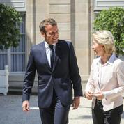 UE : Emmanuel Macron reçoit Ursula von der Leyen ce lundi