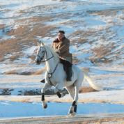Corée du Nord: la forte symbolique de Kim à cheval sur le mont Paektu