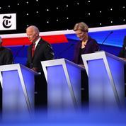 Warren et Trump, cibles des démocrates lors du dernier débat