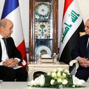 Le Drian à Bagdad pour discuter du sort des djihadistes étrangers