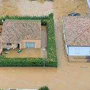 Trois morts dans les intempéries du sud de la France, des orages en Corse
