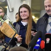L'«agente» russe Maria Butina est rentrée à Moscou