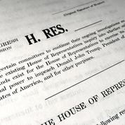 Destitution : le Congrès vote pour donner une nouvelle ampleur à l'enquête contre Trump