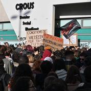 Paris : des manifestants s'introduisent dans le ministère de l'Enseignement supérieur