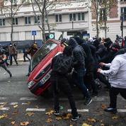 «Gilets jaunes» : «on a vu des barbares», lâche Castaner