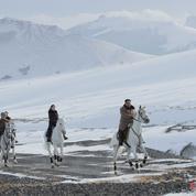 Les énigmatiques photos de Kim Jong-un chevauchant dans la neige