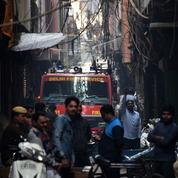 Inde : 43 morts dans l'incendie d'une usine à New Delhi