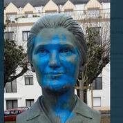 Vendée : un buste à l'effigie de Simone Veil vandalisé