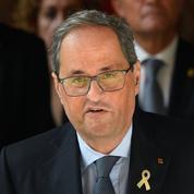 Déchu de ses fonctions pendant 18 mois, le président catalan Quim Torra fait appel
