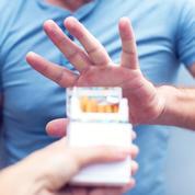 Le nombre de fumeurs masculins diminue pour la première fois