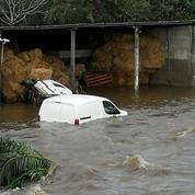 Tempête Fabien : les entrées et les sorties d'Ajaccio toujours interdites