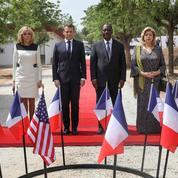 Macron rend hommage aux soldats français morts à Bouaké