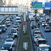 Grève dans les transports : forte affluence ce lundi sur les routes d'Île-de-France