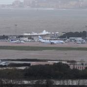 Intempéries : l'aéroport d'Ajaccio toujours sous l'eau