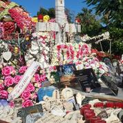 La sépulture de Johnny à Saint-Barthélemy est menacée par le sable et les crabes