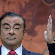 La vidéosurveillance montre Ghosn quitter seul son domicile de Tokyo