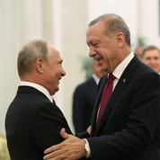 Rencontre Erdogan-Poutine : nouveau gazoduc, Libye et Syrie sur la table