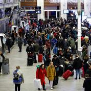 Réforme des retraites: le taux de grévistes à la SNCF tombe à 10,2%