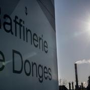 Réforme des retraites : une unité de distillation de la raffinerie Total de Donges à l'arrêt