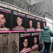 Les visages tuméfiés d'Angela Merkel, Brigitte Macron et Michelle Obama placardés à Milan