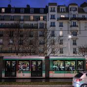 Paris: le tramway T3b temporairement interrompu après des «jets de projectiles»