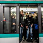 Grève : chaque jour, les Franciliens ont passé 69 minutes de plus dans les transports