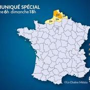 Tempête Ellen : le Pas-de-Calais en alerte orange