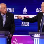Sous le feu de ses rivaux démocrates, Sanders se pose en rempart à Trump