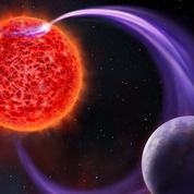 Une étrange émission d'ondes radio trahit la présence d'une exoplanète