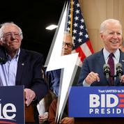 Primaires démocrates : ces idées qui opposent Joe Biden et Bernie Sanders