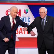 Primaires démocrates: unis contre Trump, Biden et Sanders s'écharpent sur leur passé